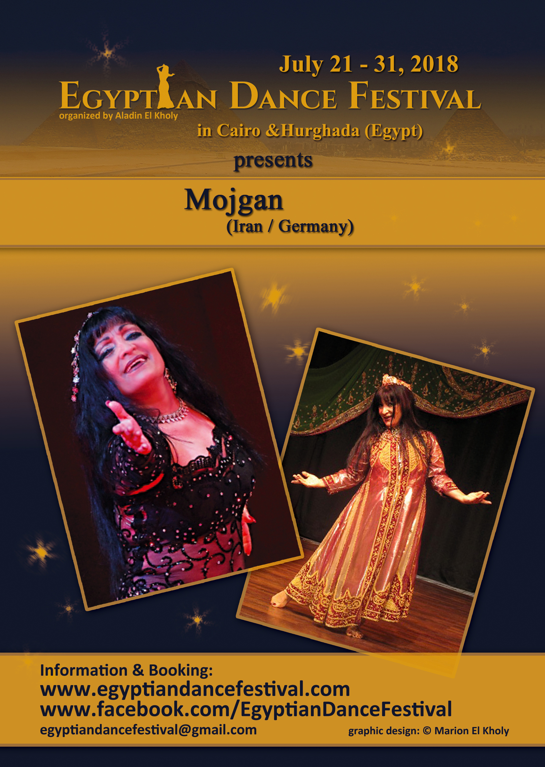 Egyptian Dance Festival 2018 - Mojgan